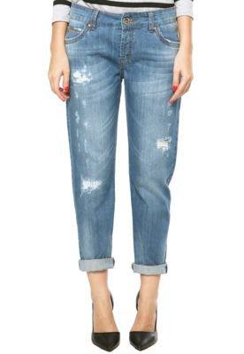 Calça Jeans Colcci Tomboy Azul