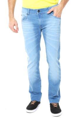 Calça Jeans Coca-Cola Estonada Azul