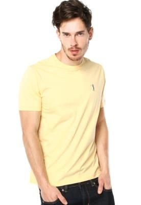 Camiseta Aleatory Basic Amarela