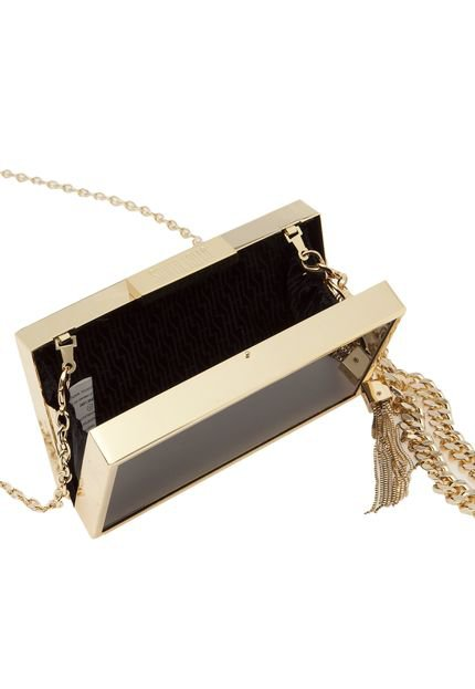Bolsa Dourada Santa Lolla : Bolsa santa lolla metal dourada preta compre agora
