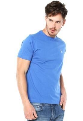 Camiseta Aleatory Simple Azul