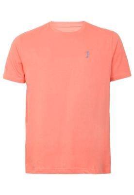 Camiseta Aleatory Bordado Laranja