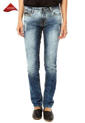 Calça Jeans Ellus Skinny Clas Cross Azul