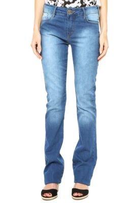 Calça Jeans Sommer Bootcut Alexa Style Azul