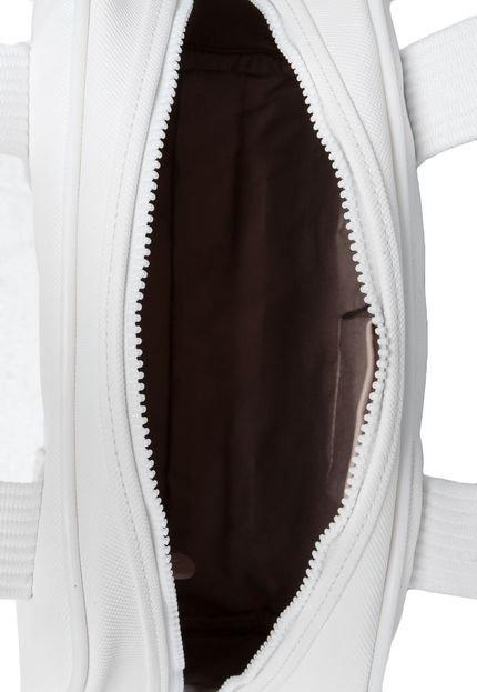 Bolsa Lacoste Blanc Branca : Bolsa lacoste z?per branca compre agora dafiti brasil