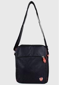 Bandolera Dúo Negro-rojo Swiss Bag
