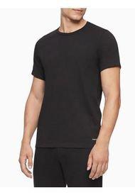 Camiseta 3 Pack S/S Crew Cotton Classics Negro Calvin Klein