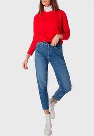 Sweater Calvin Klein Jeans Rojo - Calce Regular