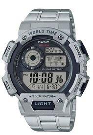 Reloj Deportivo Plateado Casio