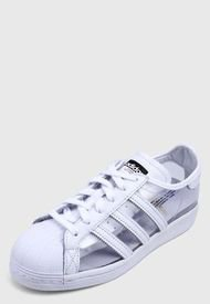 Tenis Lifestyle Blanco-Transparente  adidas Originals Superstar