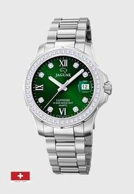 Reloj Formal Verde Jaguar
