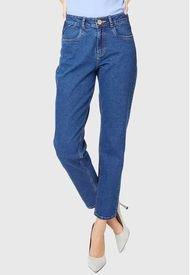 Jeans Mom Basico Azul Amalia Jeans