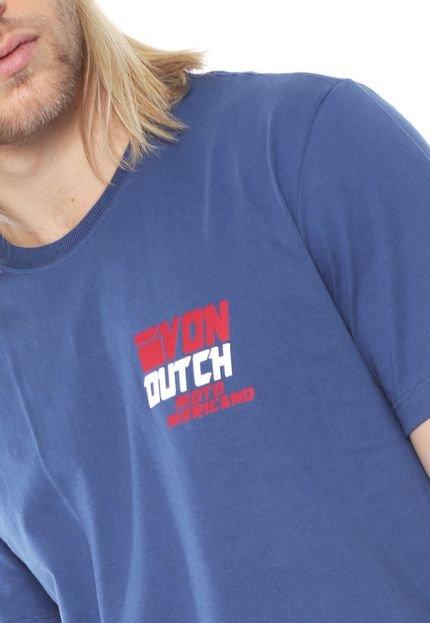 Von Dutch  Camiseta Von Dutch Wings Azul