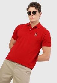 Polo Rojo-Azul-Blanco Us Polo Assn