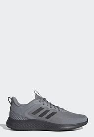 Tenis Running Gris-Negro adidas Performance Fluidstreet