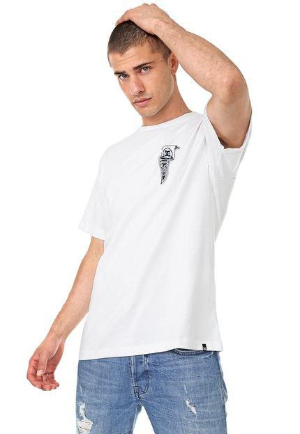 Camiseta DC Shoes Pennant Off-white