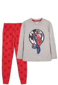 Pijama Niño Spiderman Ataque Gris Marvel