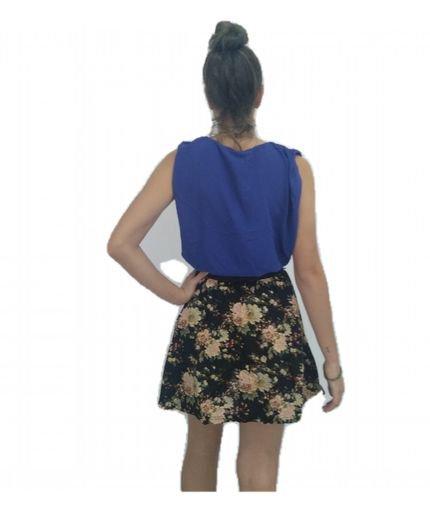 BON Vestido BON Floral Azul cgDMM