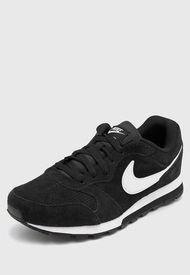 Zapatilla Negra Nike Md Runner 2 Suede