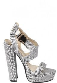Sandalia Dusk Negro We Love Shoes