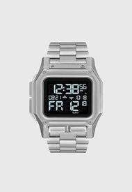 Reloj Digital Plateado Nixon