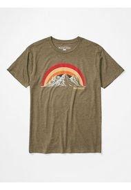 Polera Clove Hitch Ss Verde Marmot