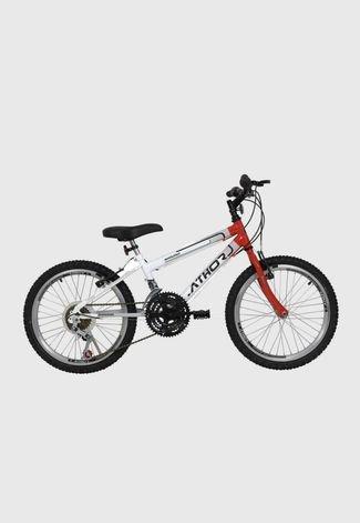 Edredon Bicicleta.Bicicleta Aro 20 Mtb 18 Marchas Evolution Masculina Vermelha Athor Bikes