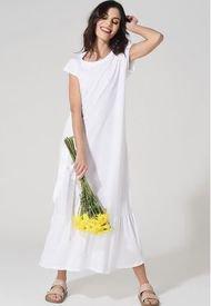 Vestido Petunia Blanco Élida