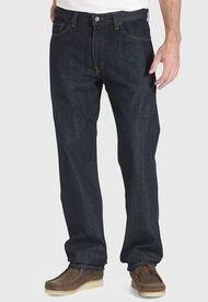 Jeans Levis 505 Regular Tumbled Rigid Negro - Calce Regular