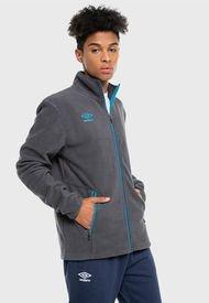 Polerón Umbro Polar Fleece Jacket Gris - Calce Regular