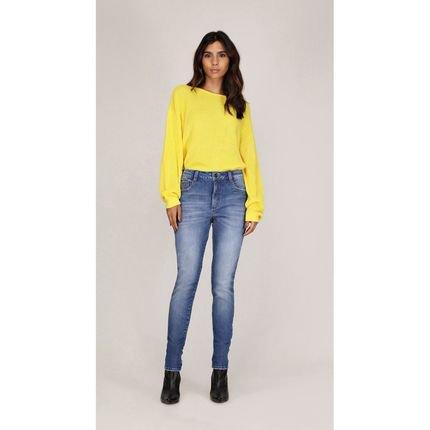 Leboh Calca Leboh Skinny Pietra Cos Alto Media Jeans Jeans wR9sV