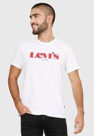 Camiseta Blanco-Rojo Levi´s