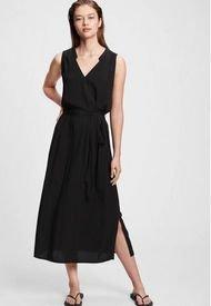 Vestido Zen Nk Maxi Negro GAP