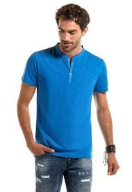Polera Pigment Dyed Azul Ferouch
