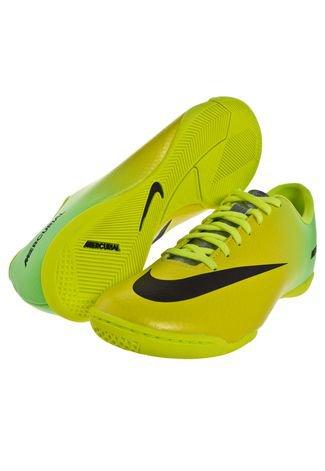 recuperar textura gato  Chuteira Futsal Nike Mercurial Victory IV IC Verde - Compre Agora | Dafiti  Brasil