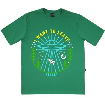 Alkary Camiseta Alkary Ovni Verde wovDx