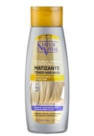 Mascarilla Silver Blonde 300Ml Naturvital
