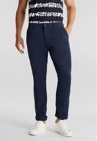 Pantalón Hombre Chino Azul Oscuro Esprit