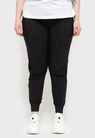 Pantalón de Buzo Desigual TRACKSUIT PANT PLAIN Negro - Calce Regular