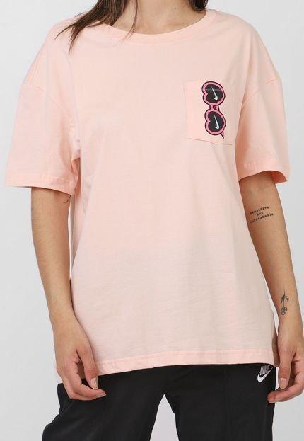 Nike Sportswear Camiseta Nike Sportswear W Nsw Tee Summer Fu Rosa wtaJR