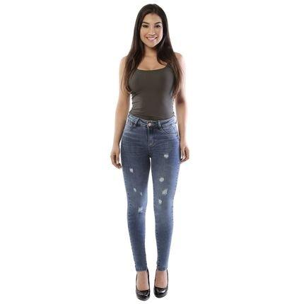 Sawary Calça Jeans Sawary Cigarrete Push Up 9OFVN