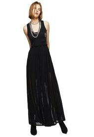 Vestido D Tehei Dress 9Xx Negro Diesel