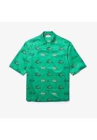 Camisa Verde Lacoste
