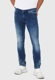 Jeans Only & Sons Slim Azul - Calce Slim Fit