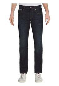 Jeans Denton Elásticos  Corte Recto Azul Tommy Hilfiger