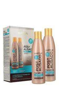 Kit Post Alisado Shampoo Y Acondicionador Kativa