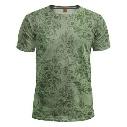 Camiseta floral - Calt Store