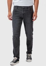 Jeans Wrangler Greensboro Straight Negro - Calce Ajustado