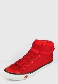 Tenis Rojo-Blanco HANG TEN