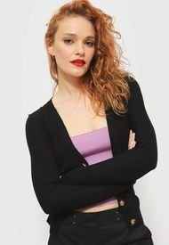 Sweater iO  Negro - Calce Ajustado